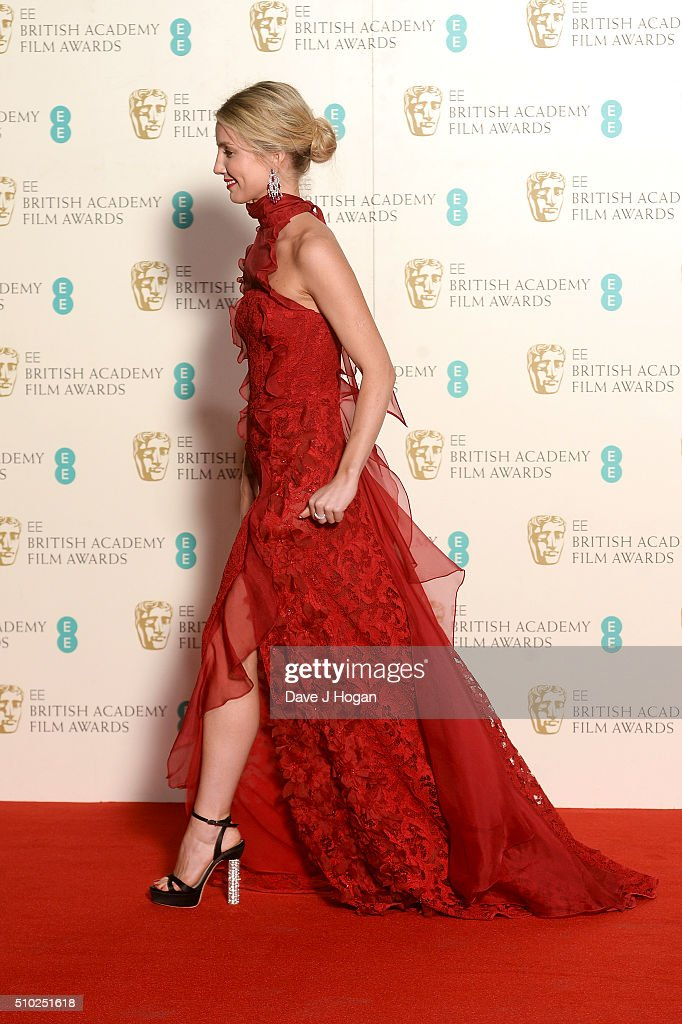 <a gi-track='captionPersonalityLinkClicked' href=/galleries/search?phrase=Annabelle+Wallis&family=editorial&specificpeople=5645087 ng-click='$event.stopPropagation()'>Annabelle Wallis</a> poses in the winners room at the EE British Academy Film Awards at The Royal Opera House on February 14, 2016 in London, England.