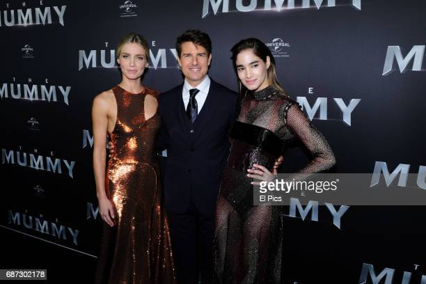 Annabelle Wallis Tom Cruise Sofia Boutella arrive ahead of The Mummy Australian Premiere at State Theatre on May 22 2017 in Sydney Australia