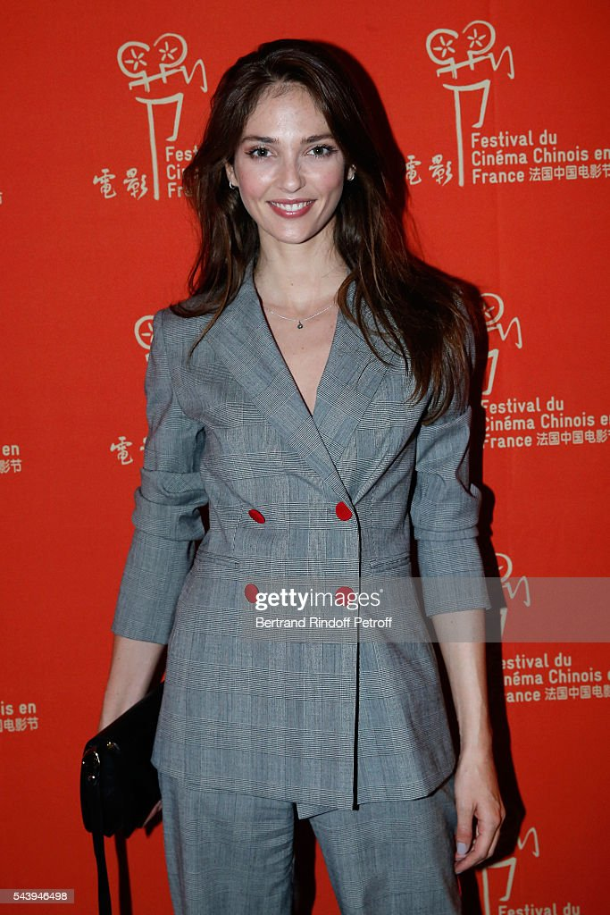 Annabelle Waters Belmondo arrives at the 6th Chinese Film Festival