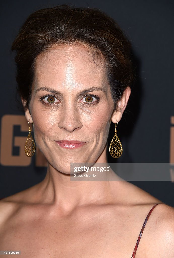 Annabeth Gish arrives at the FX's 'The Bridge' Season 2 Premiere at Pacific Design Center on July 7, 2014 in West Hollywood, California.