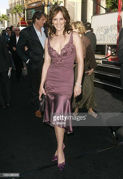 Annabeth Gish during 'Batman Begins' Los Angeles Premiere Arrivals at Grauman's Chinese Theater in Hollywood California United States