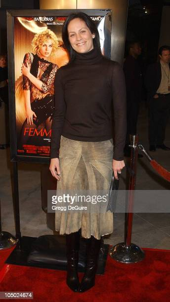 Annabeth Gish during 'Femme Fatale' Los Angeles Premiere at Cinerama Dome in Hollywood California United States