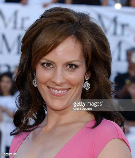Annabeth Gish during 'Mr And Mrs Smith' Los Angeles Premiere Arrivals in Los Angeles California United States