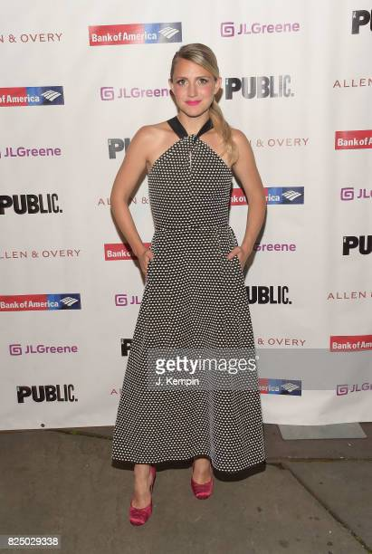 Annaleigh Ashford attends 'A Midsummer Night's Dream' Opening Night at Delacorte Theater on July 31 2017 in New York City