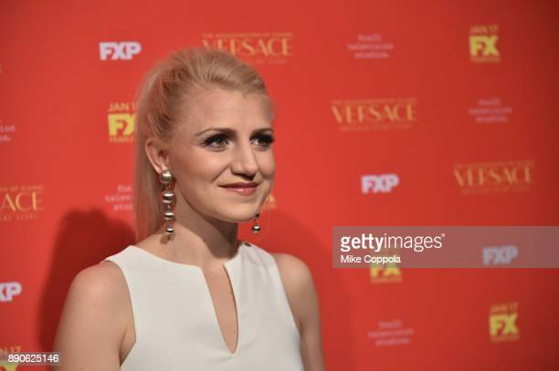 Annaleigh Ashford attends 'The Assassination Of Gianni Versace American Crime Story' New York Screening at Metrograph on December 11 2017 in New York...