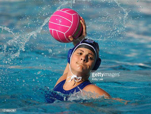 Annalisa Bosello of Italy during 1412 loss to Canada in the International Holiday Cup at the USA Water Polo National Training Center in Los Alamitos...