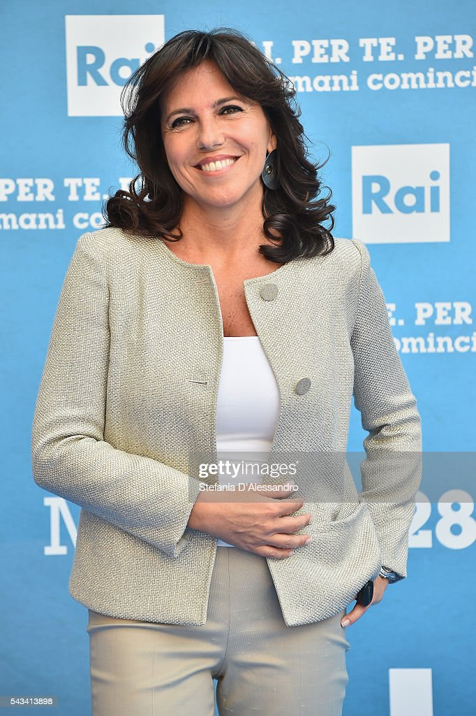 Annalisa Bruchi attends Rai Show Schedule Presentation In Milan on June 28, 2016 in Milan, Italy.