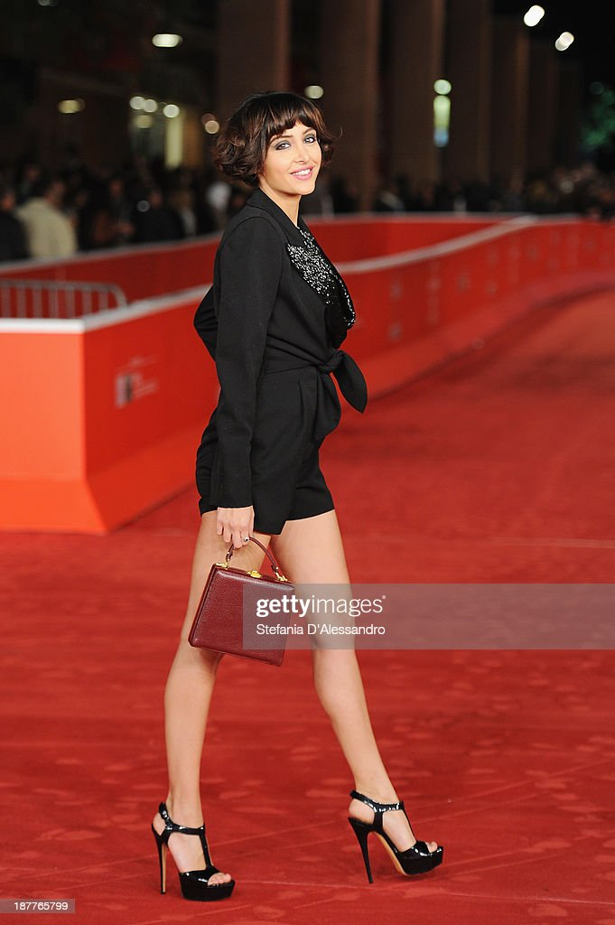 Annalisa De Simone attends 'Out Of The Furnace' Premiere during The 8th Rome Film Festival on November 12, 2013 in Rome, Italy.
