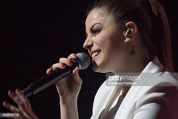 Annalisa performs on May 17 2016 in Milan Italy