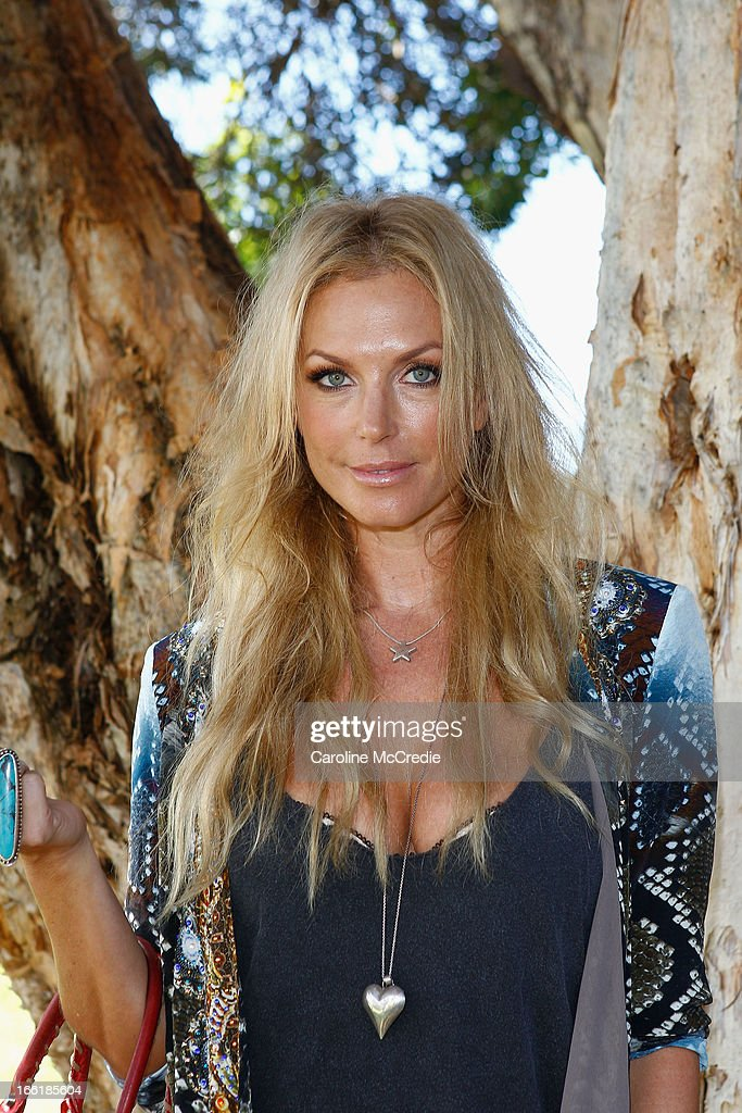 Annalise Braakensiek attends the Camilla show during Mercedes-Benz Fashion Week Australia Spring/Summer 2013/14 at Centennial Park on April 10, 2013 in Sydney, Australia.