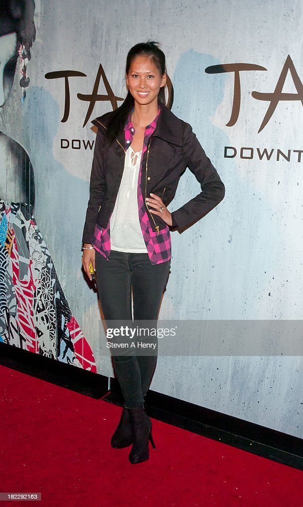DJ Annalog attends the grand opening of TAO Downtown on September 28, 2013 in New York City.