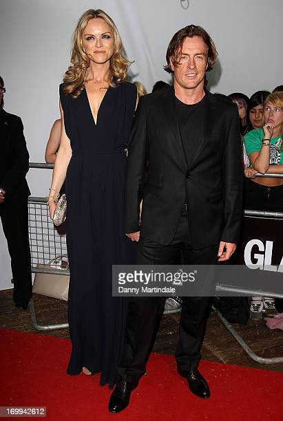 AnnaLouise Plowman and Toby Stephens attends Glamour Women of the Year Awards 2013 at Berkeley Square Gardens on June 4 2013 in London England