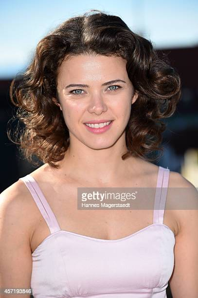 AnnaLouise Weihrauch attends the 'Dirty Dancing' Musical Photocall at Hotel Bayerischer Hof on October 14 2014 in Munich Germany