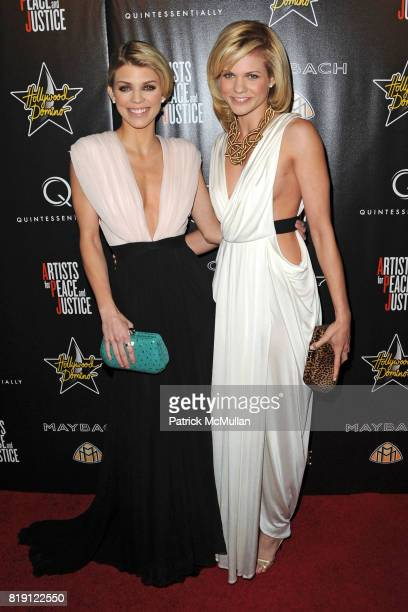 AnnaLynne McCord and Angel McCord attend 3rd Annual PreOscar Hollywood DOMINO Gala Benefiting Artists for Peace and Justice at BAR 210 on March 4...