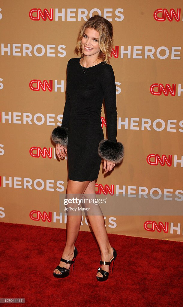 AnnaLynne McCord arrives at the 2010 CNN Heroes An AllStar Tribute held at The Shrine Auditorium on November 20 2010 in Los Angeles California