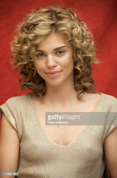AnnaLynne McCord at the '90210' press conference at the Four Seasons Hotel on March 26 2009 in Beverly Hills California