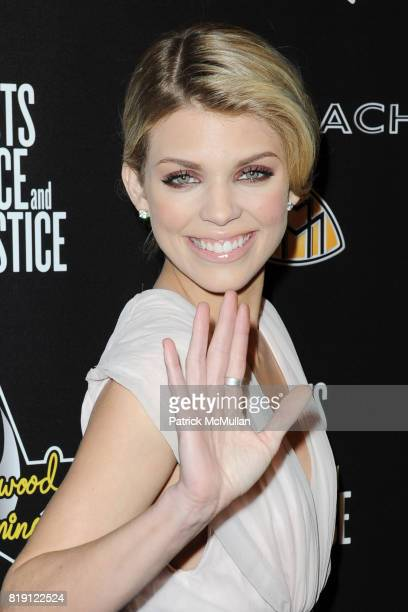 AnnaLynne McCord attends 3rd Annual PreOscar Hollywood DOMINO Gala Benefiting Artists for Peace and Justice at BAR 210 on March 4 2010 in Beverly...