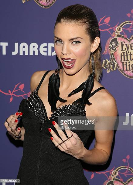 AnnaLynne McCord attends the Just Jared's Homecoming Dance at the El Rey Theater on November 20 2014 in Los Angeles California