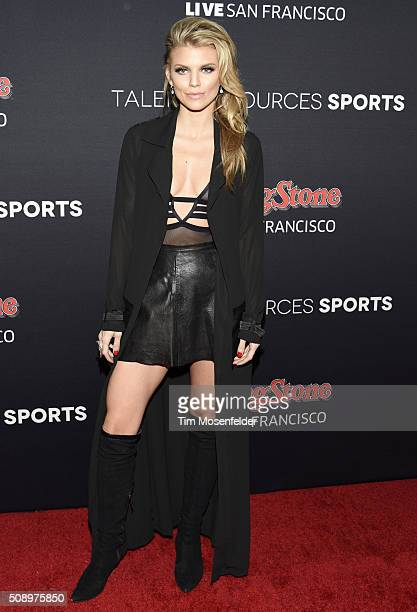 AnnaLynne McCord attends the Rolling Stone Live Party on their engagement day at San Francisco Design Center on February 6 2016 in San Francisco...