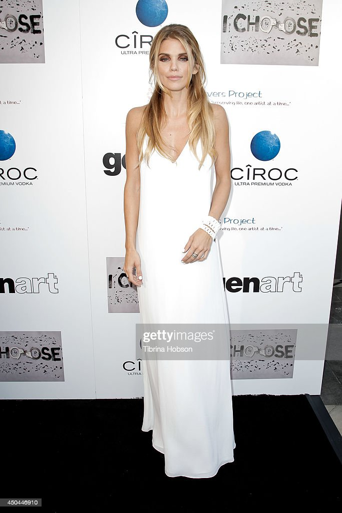 <a gi-track='captionPersonalityLinkClicked' href=/galleries/search?phrase=AnnaLynne+McCord&family=editorial&specificpeople=4070122 ng-click='$event.stopPropagation()'>AnnaLynne McCord</a> attends the screening of her new film 'I Choose' at Harmony Gold Theatre on June 10, 2014 in Los Angeles, California.