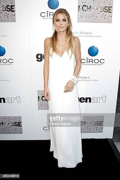 AnnaLynne McCord attends the screening of her new film 'I Choose' at Harmony Gold Theatre on June 10 2014 in Los Angeles California