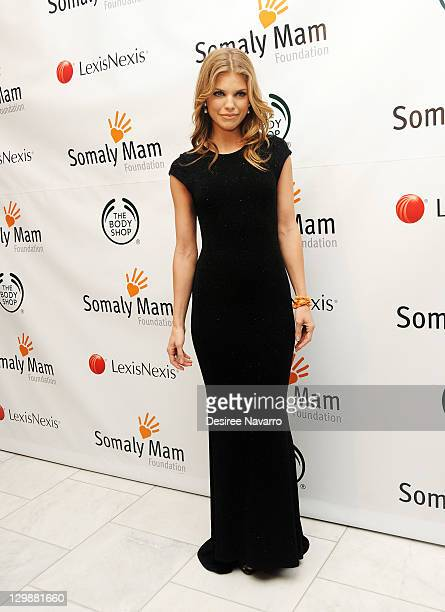 Annalynne McCord attends the Somaly Mam Foundation 2011 Gala at Espace on October 20 2011 in New York City
