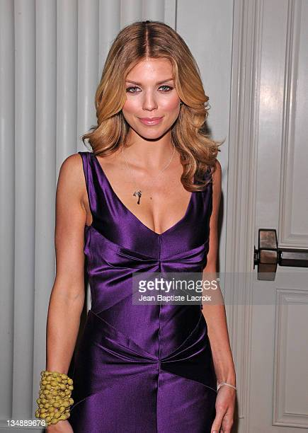 AnnaLynne McCord attends The Thirst Project Gala held at Casa del Mar on June 29 2010 in Santa Monica California