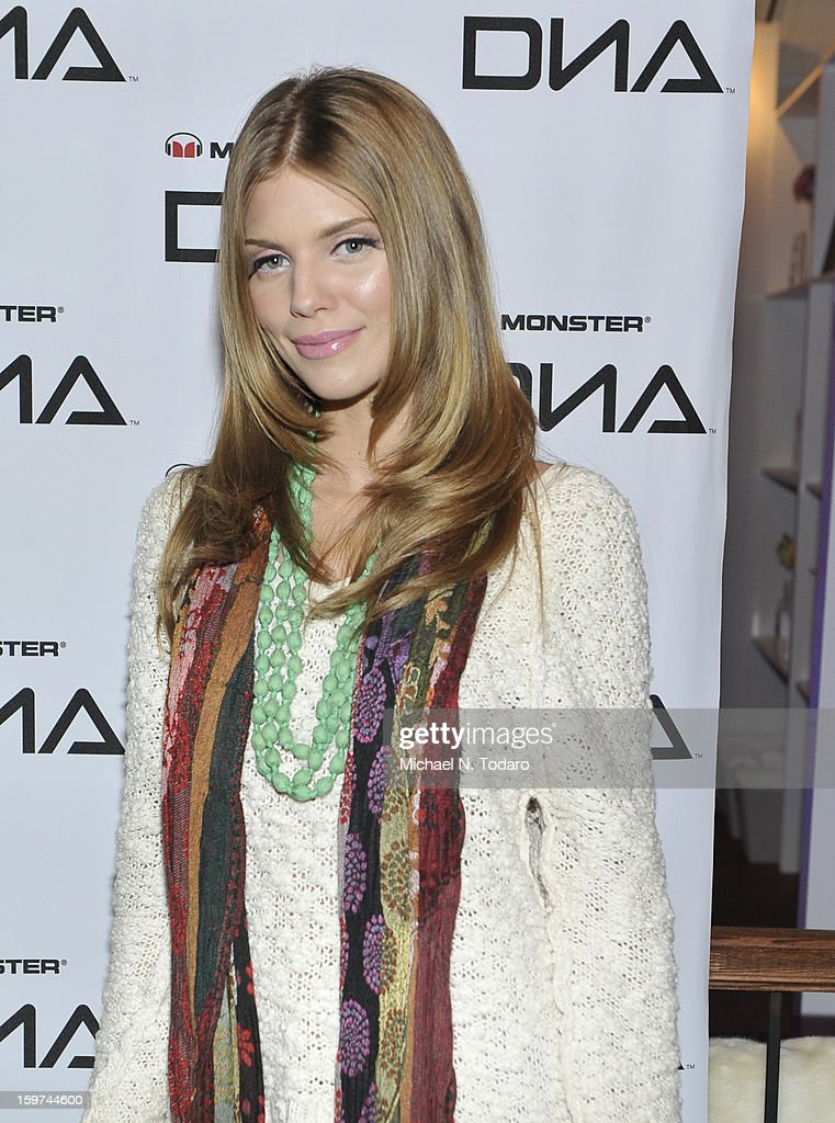Annalynne Mccord attends the TR Suites Daytime Lounge - Day 2 on January 19, 2013 in Park City, Utah.