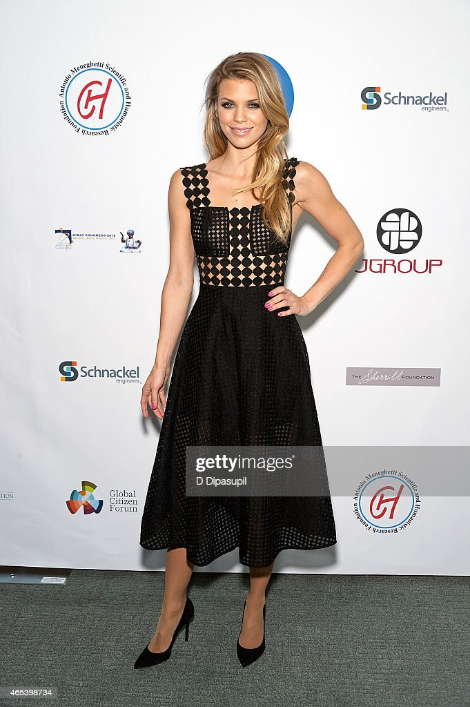 AnnaLynne McCord attends the UN Women For Peace Association International Women's Day Celebration at UN Delegates Dining Room and Terrace on March 6...