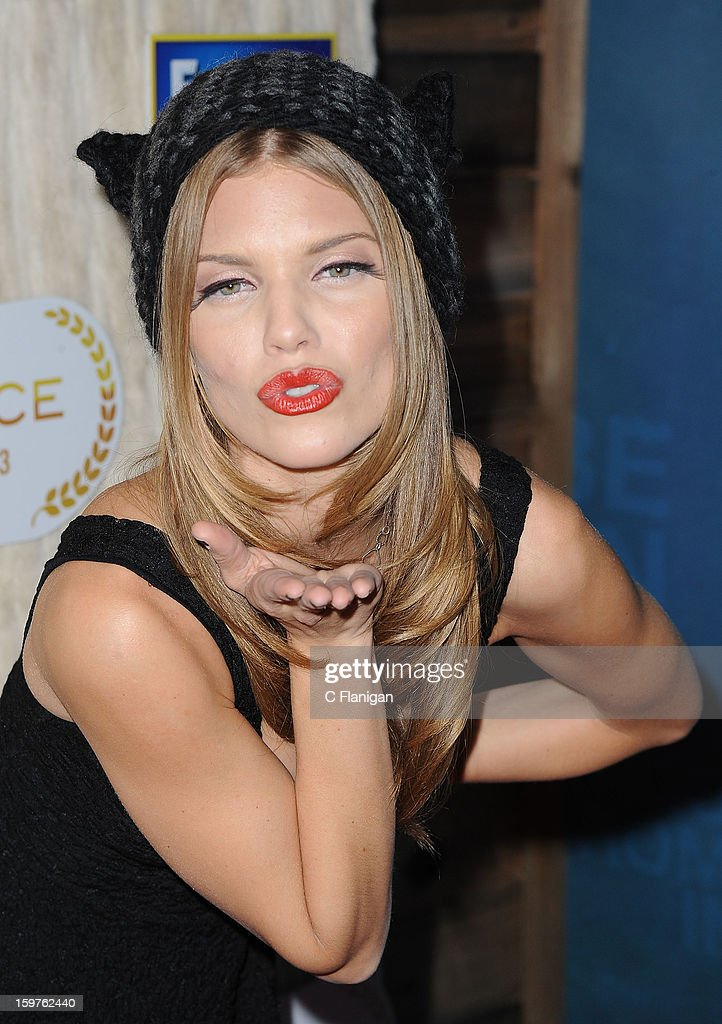 <a gi-track='captionPersonalityLinkClicked' href=/galleries/search?phrase=AnnaLynne+McCord&family=editorial&specificpeople=4070122 ng-click='$event.stopPropagation()'>AnnaLynne McCord</a> hosts the Catdance Film Festival during the 2013 Sundance Film Festival on January 19, 2013 in Park City, Utah