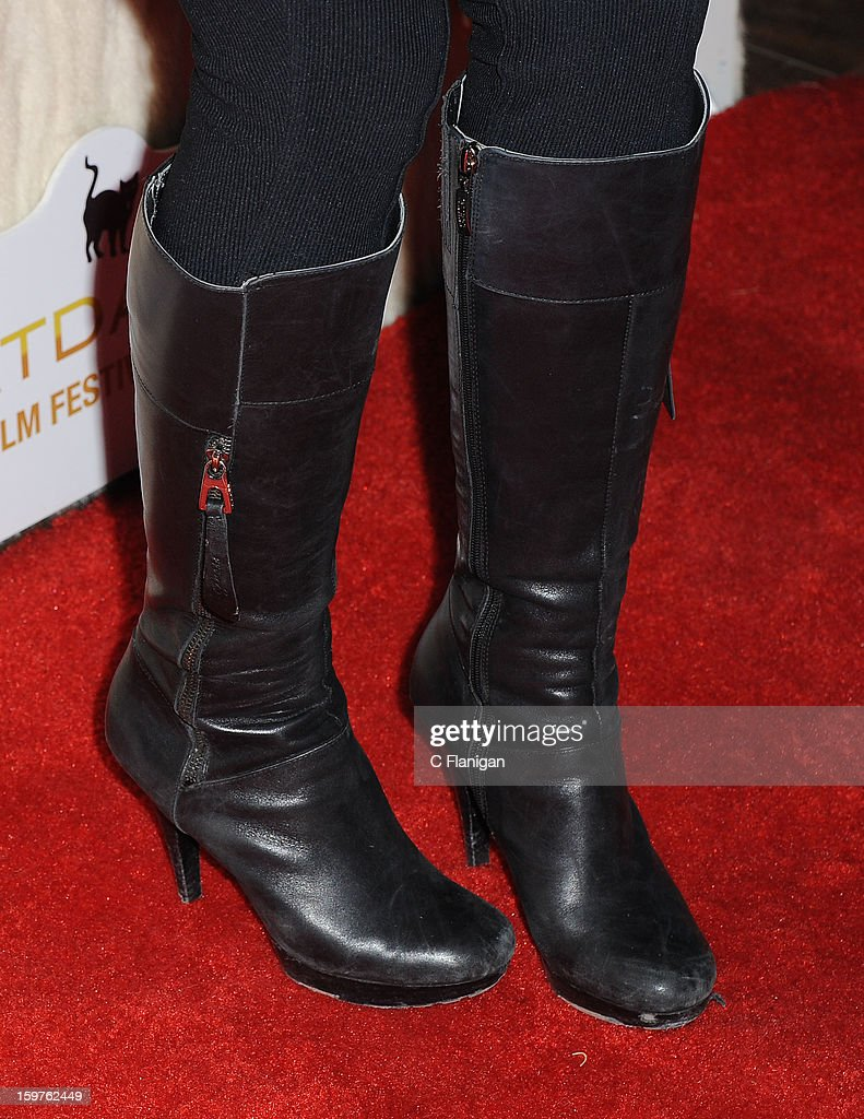 AnnaLynne McCord (Boot Detail) hosts the Catdance Film Festival during the 2013 Sundance Film Festival on January 19, 2013 in Park City, Utah