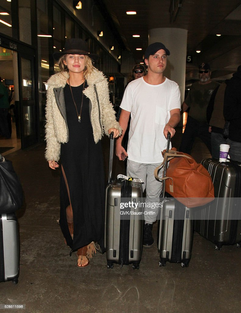 AnnaLynne McCord is seen at LAX on May 05, 2016 in Los Angeles, California.