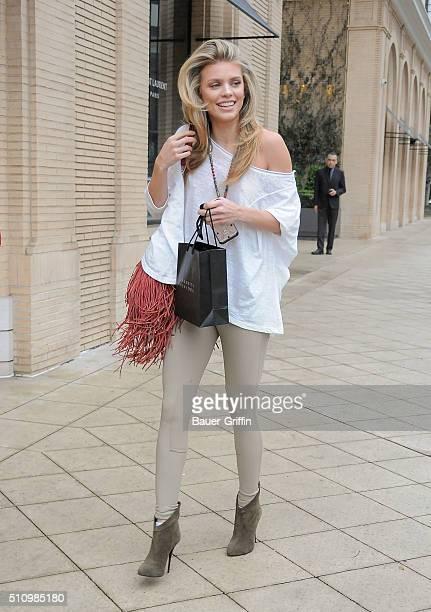 AnnaLynne McCord is seen on February 17 2016 in Los Angeles California