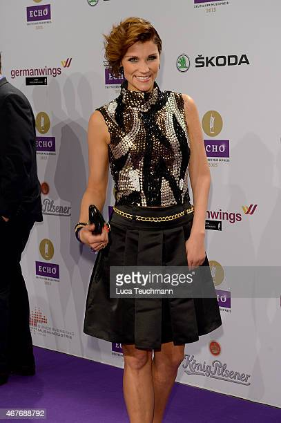AnnaMaria Zimmermann attends the Echo Award 2015 Red Carpet Arrivals on March 26 2015 in Berlin Germany