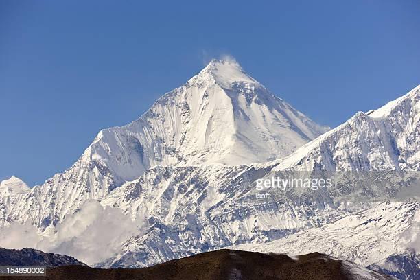 ダウラギリます。エベレスト&アンナプルナ周遊コースです。ネパールの動機