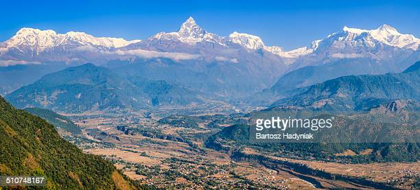 Annapurna Range and Mount Machhapuchchhre