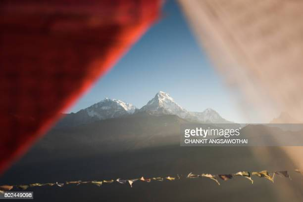 Annapurna South View from Poon Hill, Nepal