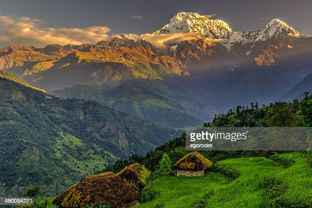 Although Annapurna is the 10th highest mountain in the world it is one of the most dangerous climbs, a mountaineer is more likely to die here than on any other 8000m climb.