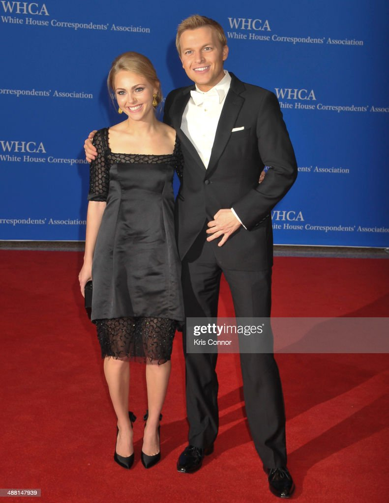 AnnaSophia Robb and Ronan Farrow attend the 100th Annual White House Correspondents' Association Dinner at the Washington Hilton on May 3, 2014 in Washington, DC.