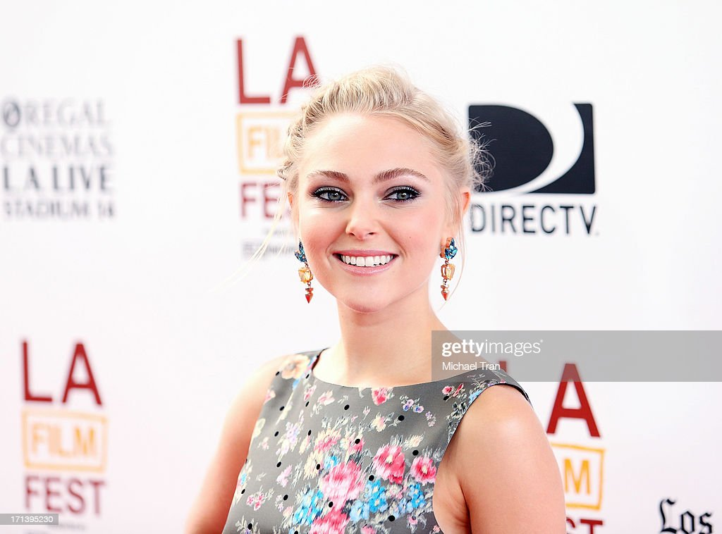 AnnaSophia Robb arrives at the 2013 Los Angeles Film Festival 'The Way, Way Back' closing night gala held at Regal Cinemas L.A. LIVE Stadium 14 on June 23, 2013 in Los Angeles, California.