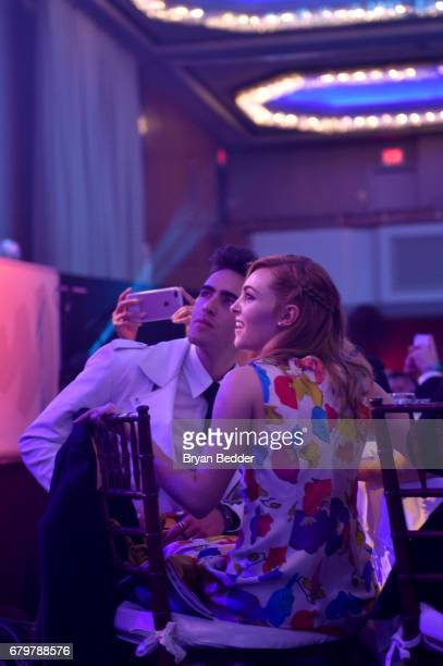 AnnaSophia Robb attends 28th Annual GLAAD Media Awards at The Hilton Midtown on May 6 2017 in New York City