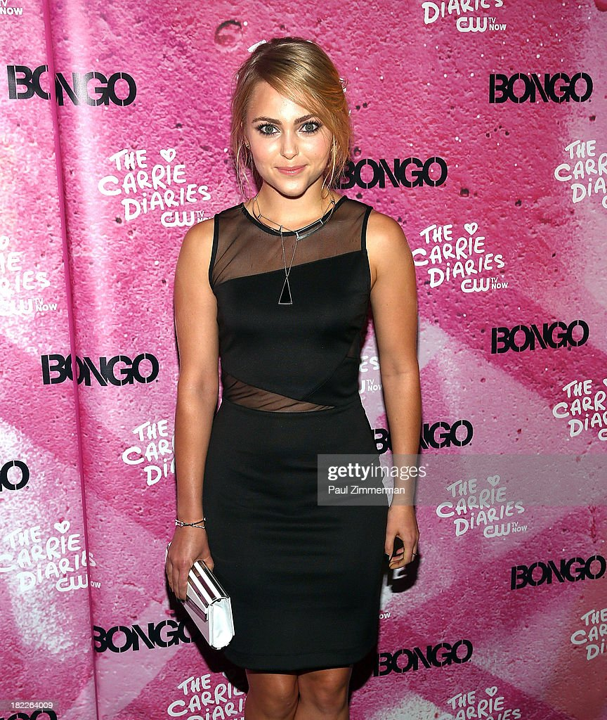 AnnaSophia Robb attends 'The Carrie Diaries' Season Two Premiere Party at Gansevoort Park Avenue on September 28, 2013 in New York City.