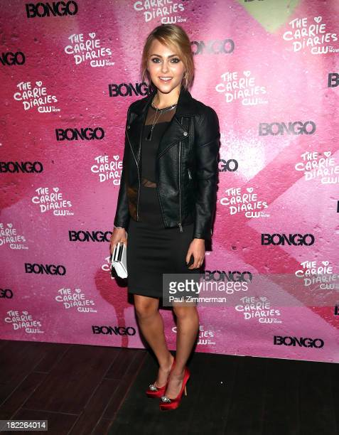 AnnaSophia Robb attends 'The Carrie Diaries' Season Two Premiere Party at Gansevoort Park Avenue on September 28 2013 in New York City