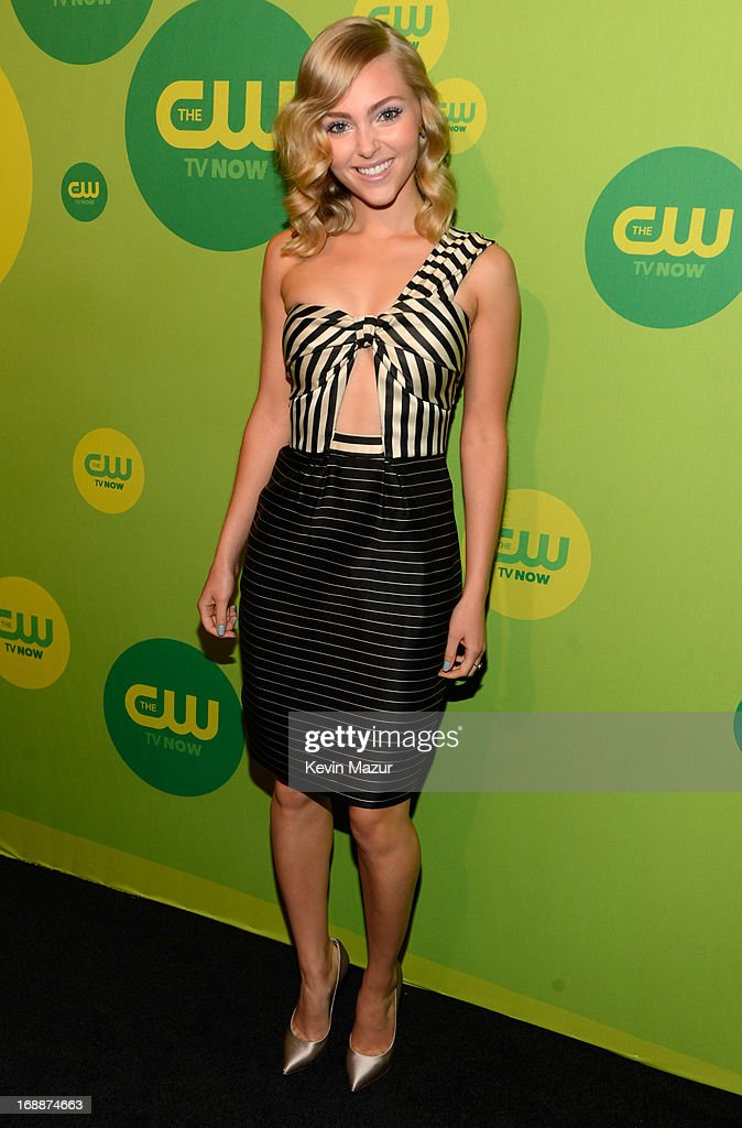 AnnaSophia Robb attends the CW Network's 2013 Upfront at The London Hotel on May 16, 2013 in New York City.