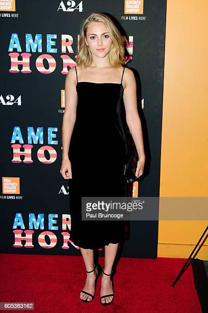 AnnaSophia Robb attends the New York Premiere of A24s AMERICAN HONEY at Sunshine Landmark on September 13 2016 in New York City