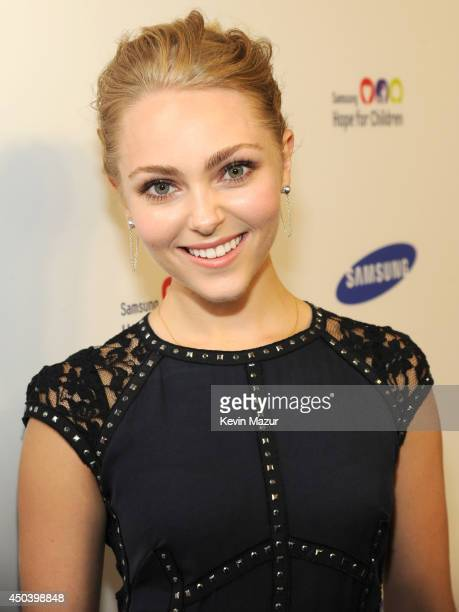 AnnaSophia Robb attends the Samsung Hope For Children Gala 2014 at Cipriani Wall Street on June 10 2014 in New York City