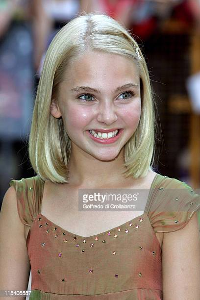 Annasophia Robb during 'Charlie and the Chocolate Factory' London Premiere at Odeon Leicester Square in London United Kingdom