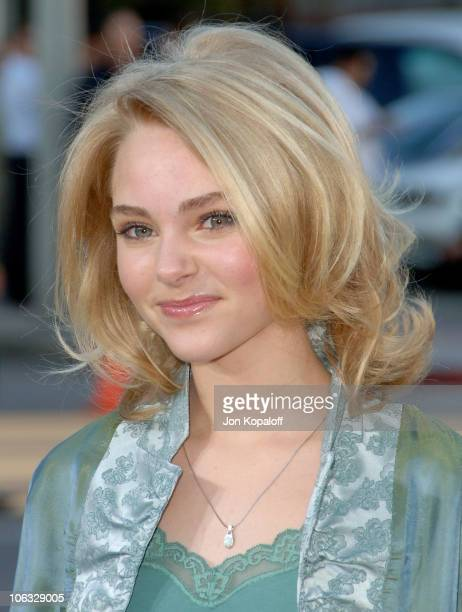 AnnaSophia Robb during 'The Reaping' Los Angeles Premiere Arrivals at Mann Village Theater in Westwood California United States