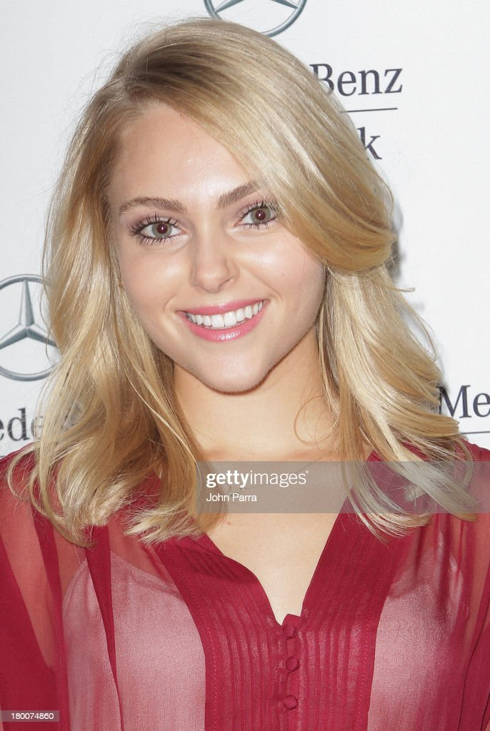 AnnaSophia Robb is seen around Lincoln Center during Spring 2014 Mercedes-Benz Fashion Week on September 8, 2013 in New York City.