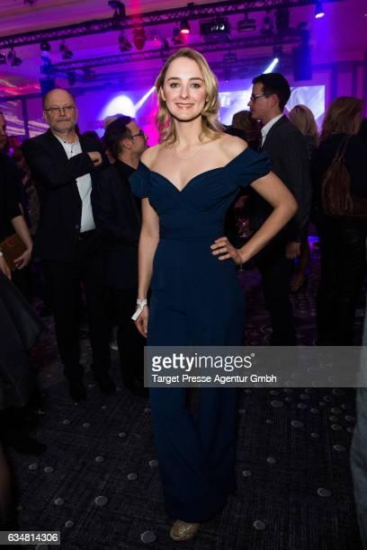 AnnCatrin Maerzke attends the Medienboard BerlinBrandenburg Reception during the 67th Berlinale International Film Festival Berlin at on February 11...